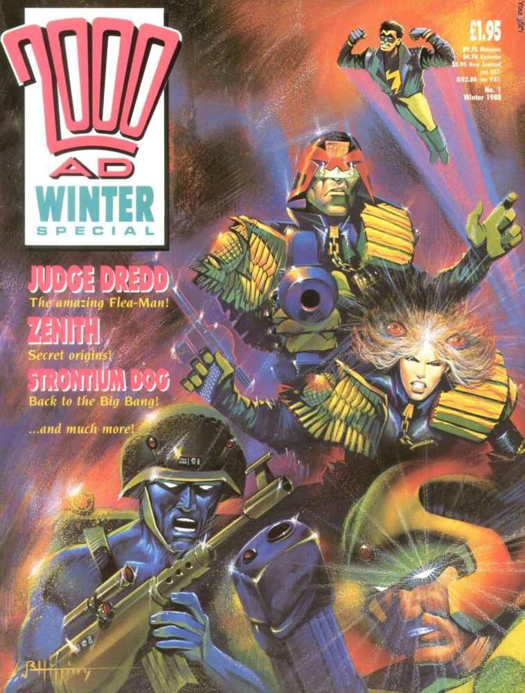 Top ten 2000AD stories which should be made into films (2/2)