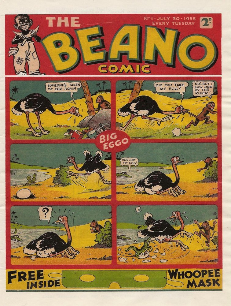 75 years of The Beano :  A timeline (1938-2013) (1/4)