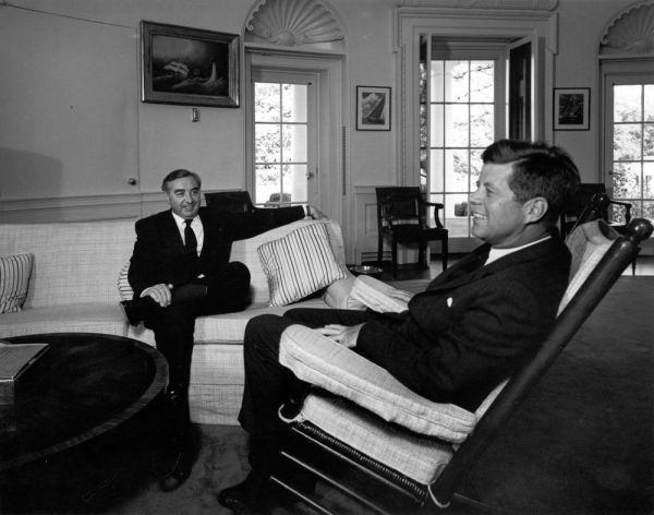 Brown and JFK