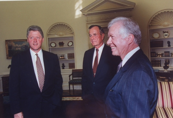 George H. W. Bush;William J. Clinton;James E. Jr. Carter