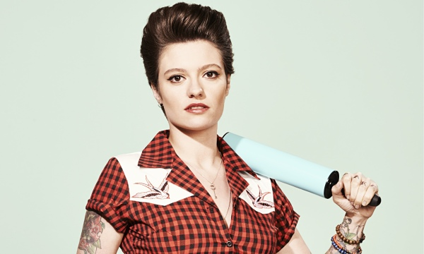 Jack Monroe photographed for Observer Food Monthly