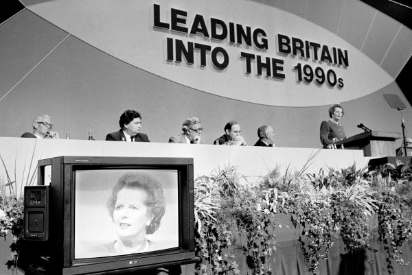 Politics - Thatcher Conservative Party Conference - 1988