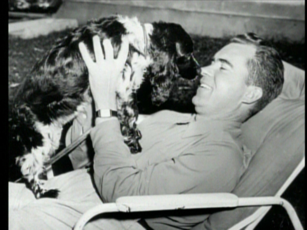 Nixon with Checkers